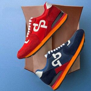 Image 4 - OPP Newbalance Shoes Men 2020 New Sneakers Balance 574 Genuine Leather Sports Sneakers Balance New Zapatillas Hombre Luxury Men