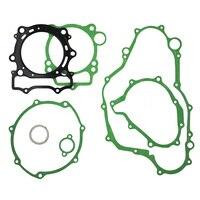 For YAMAHA YZ400F 1998 1999 WR400F 1998 1999 Motorcycle Cylinder Crankcase Cover Gasket engine cylinder gaskets kit