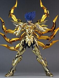 Image 4 - במלאי GreatToys EX סרטן Deathmask Saint Seiya מתכת שריון מיתוס בד זהב Ex פעולה איור