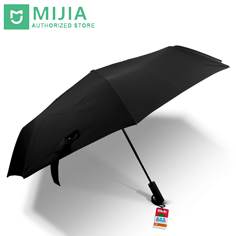 Original New Xiaomi Mijia umbrella Automatic Sunny Rainy Aluminum Windproof Waterproof UV Man woman Summer Winter