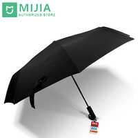 Original New Xiaomi Mijia umbrella Automatic Sunny Rainy Aluminum Windproof Waterproof UV Man woman Summer Winter
