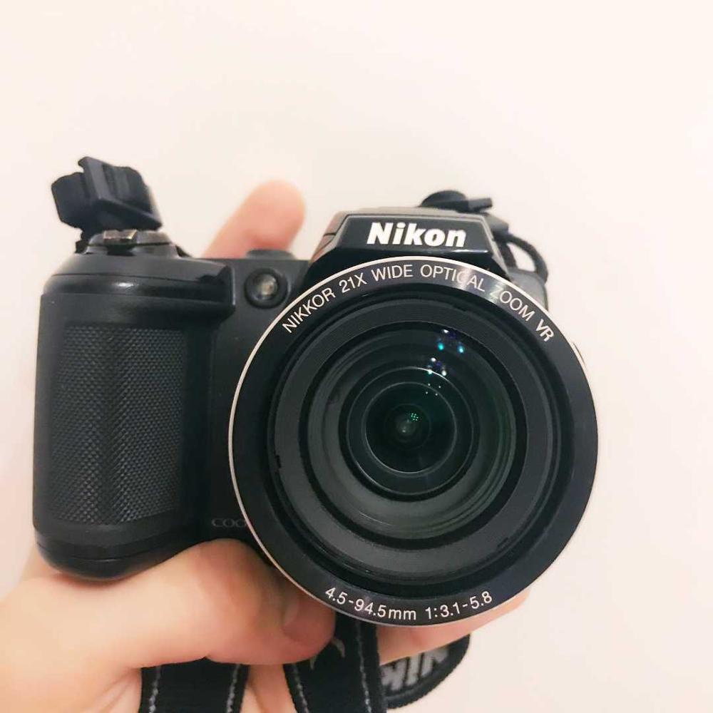 USED Nikon Coolpix L120 Digital Camera CCD 21x optical zoom Auto Focus, Image Stabilization