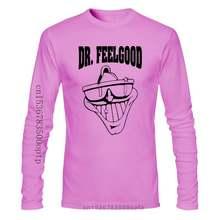 Dr. Feelgood T Shirt-Pub Rock Legenden-Alle & Verschiedene Farben 3D Druck männer T Shirt 100% Baumwolle kurzarm Tees