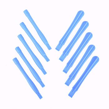 5 sztuk zestaw narzędzia do podważania plastikowe Spudger do telefonu komórkowego Laptop PC demontaż naprawa narzędzia 8 #215 1 2cm tanie i dobre opinie HUXUAN Elektryczne Klucze CN (pochodzenie) PC Disassembly Repair Tools Plastic Spudger For Phone Mobile Show as picture