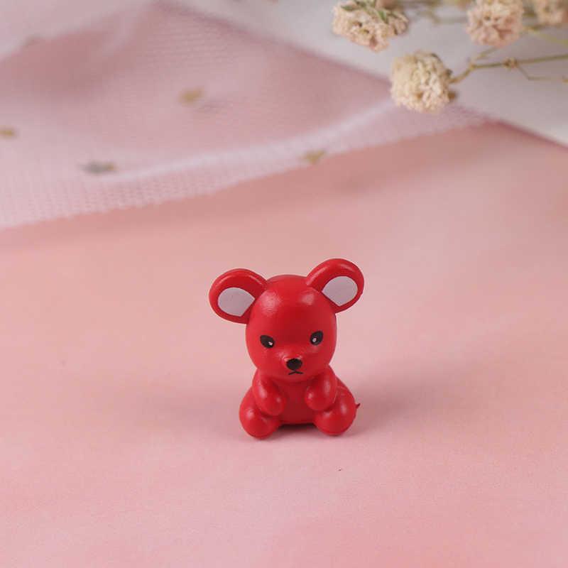 1PC Del Mouse Ornamenti Mouse Piccola Statua Poco Figurine Desktop di Decorazione Della casa