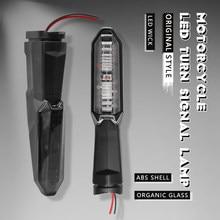Pour KAWASAKI Z250 Z300 Z750 Z800 Z900 Z1000 VERSYS 650/1000 ZRX1200 NINJA 250 SL moto LED clignotant lampe