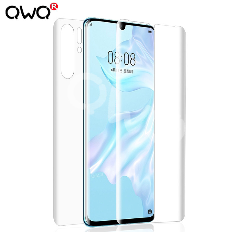 Screen-Protector Huawei Mate Hydrogel 20-Lite 20D Honor 10 for 10-Mate 20-Pro 8x-Front