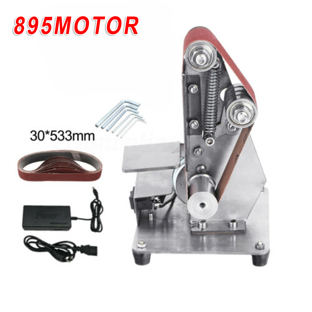 Mini Belt Sander Sanding Polishing Grinding Machine Diy Abrasive