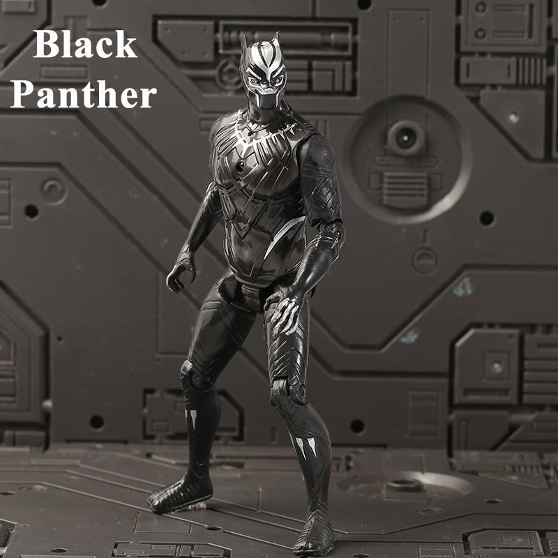 18cm-black-panther-action-figures-font-b-marvel-b-font-avenger-super-heroes-captain-america-spiderman-iron-man-doll-kids-christmas-gifts-toys