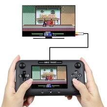 Consola de juegos portátil Retro portátil Mini clásica 8-Bit 4,0 pulgadas Color niños Color juego jugador incorporado 208 juegos