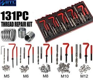 Image 5 - 131個復元エンジンブロックdamaged thread修復ツールキットM5 M6 M8 M10 M12プロ