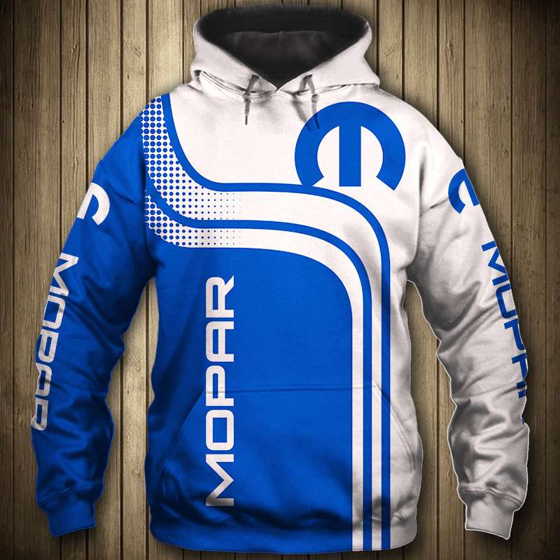For Mopar Hoodie 3D Logo Printed Spring Autumn Men's Hoodies Fashion High Quality Men's Clothes Pullovers Casual Sportswear