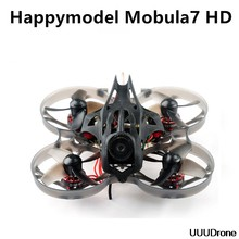 2019 nowy Happymodel modula7 HD 2-3S 75mm Crazybee F4 Pro Whoop FPV Racing Drone PNP BNF w/CADDX Turtle V2 kamera HD(China)
