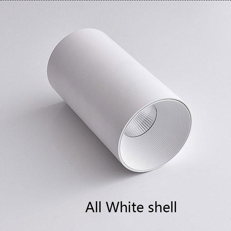 All White shell