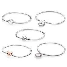 Kakany nouvelle haute qualité classique amour promesse en forme de coeur Bracelet série femme Original mode bricolage romantique bijoux cadeau