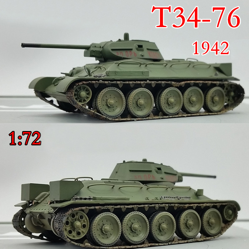 Trumpeter 1:72  World War II Soviet T34 / 76 Medium Tank  1942  36264 Finished Product Model