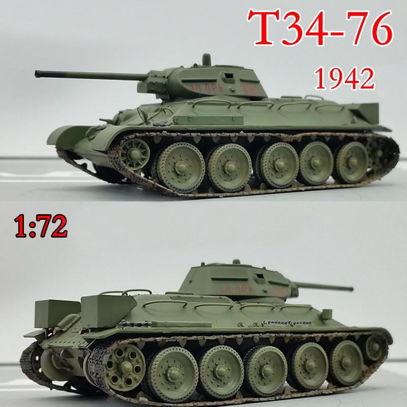 Trumpeter 1:72  World War II Soviet T34 / 76 Medium Tank  1942  36264 Finished Product Model