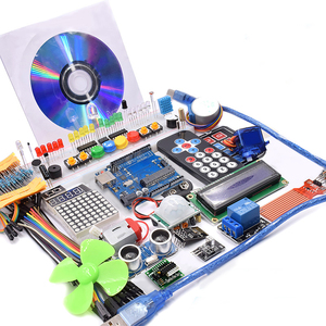 Image 3 - Wifi 모듈, 130 모터, HC SR501, 1602, 릴레이, HC sr04, arduino uno r3 용 RGB 모듈이있는 슈퍼 스타터 키트