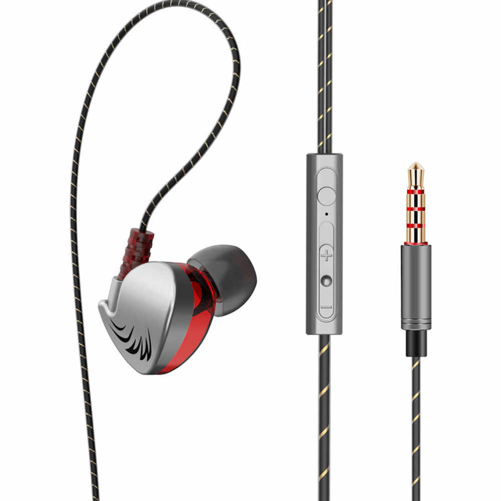 הנמכר ביותר 2019 מוצרים 2018 חדש אוזניות HIFI QKZ CK7 באוזן אוזניות סטריאו מירוץ ספורט אוזניות עבור המכשירים ביש