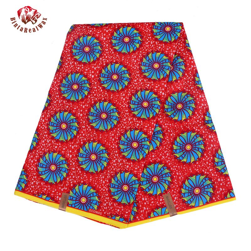 2019-Ankara-Polyester-Wax-Prints-Fabric-new-bintareal-waxHigh-Quality-6-yards-African-Fabric-for-Party