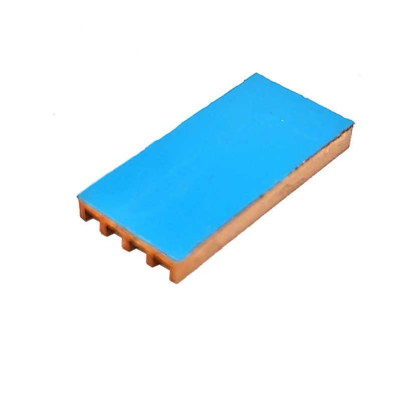 3 Pcs Murni Tembaga Mini Ultra Tipis Wastafel Panas Ram Memori Pendingin untuk VGA DDR MOS GPU Chipset IC Radiator cooler Heatsink 19x9x2mm
