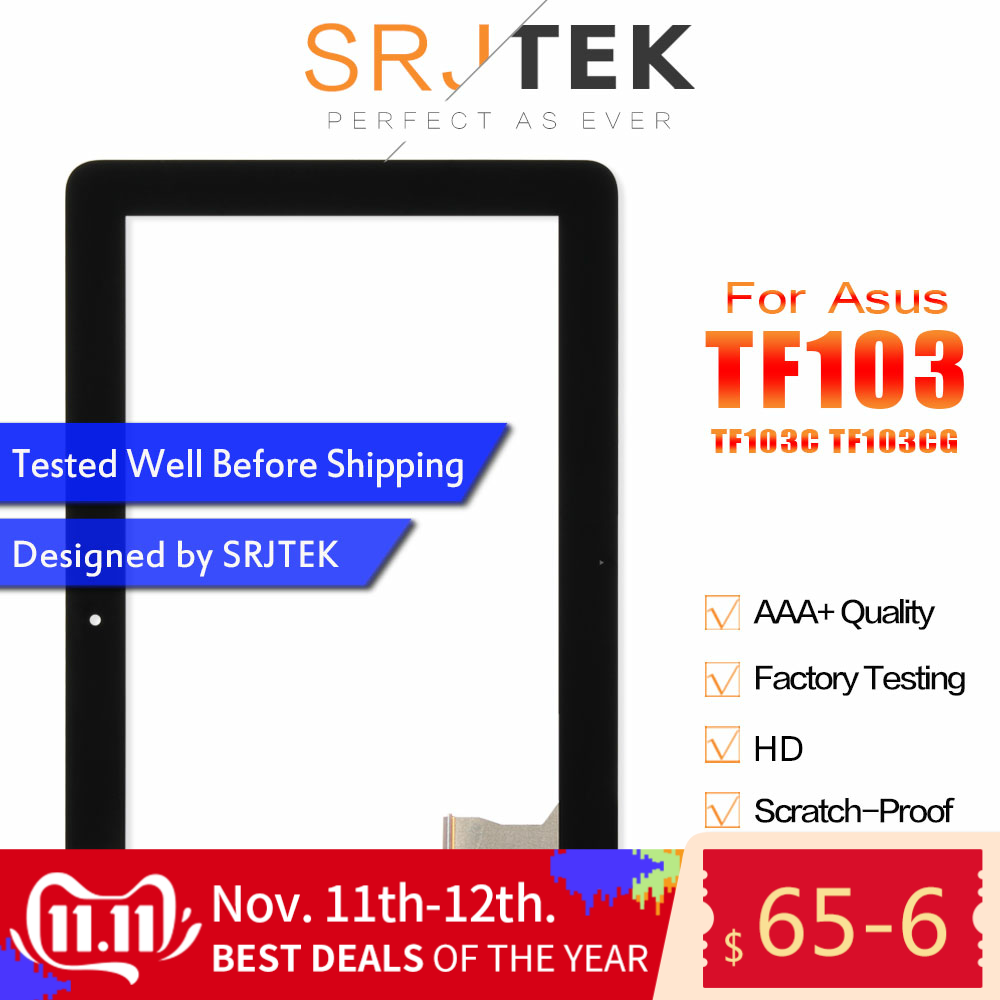 Touch Screen For Asus TF103CG Transformer Pad TF103 TF103C Touchscreen K018 Digitizer Glass Sensor Tablet Replacement Part 7