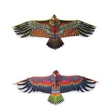 Новые игрушки 1,1 м огромный Орел воздушный змей со струной и ручкой Новинка игрушечный воздушный змей орлы Большой Летающий для детей лучший подарок