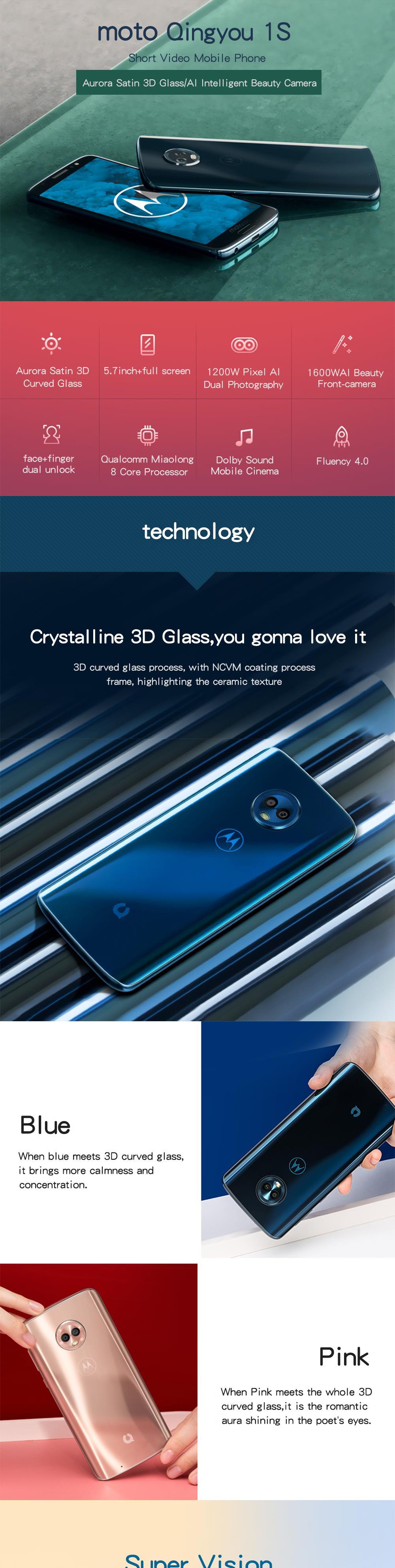 Teléfono Inteligente Moto G6 1