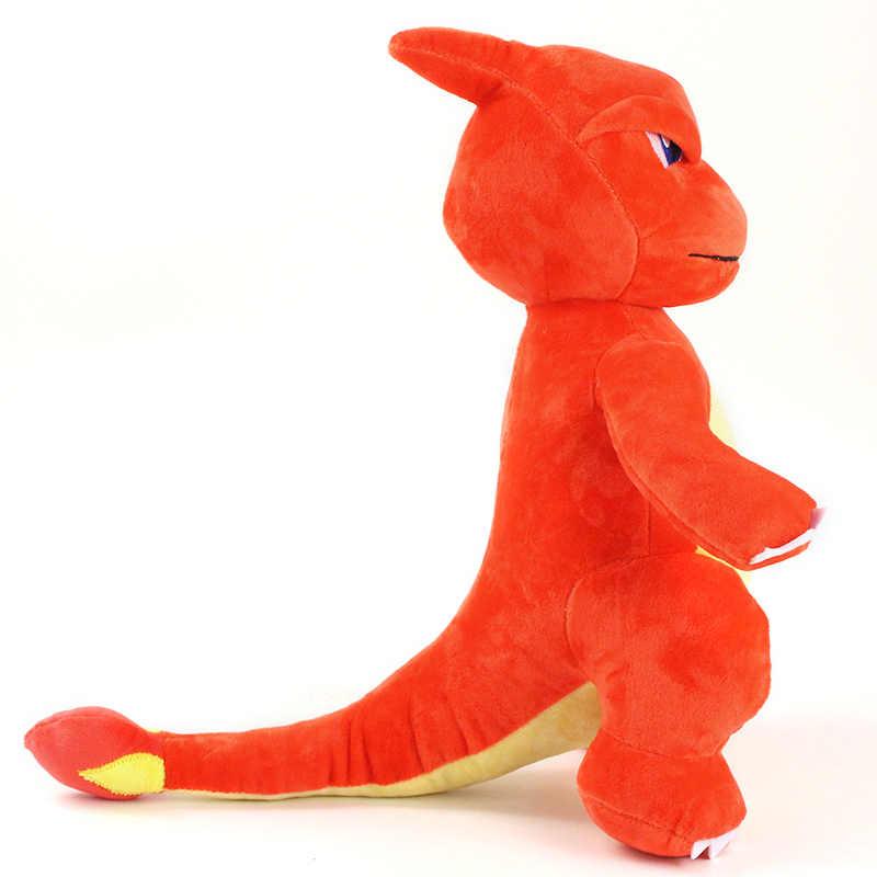 34cm kawaii dos desenhos animados anime charmeleon brinquedos de pelúcia boneca charmeleon pingente macio peluches dragão animais de pelúcia brinquedos presentes para crianças