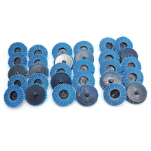 Flap-Disc-Sanding-Disk Rolor for Roll-Lock Abrasive-Tools Fits-Polishing Metal Iron Rust-Removal