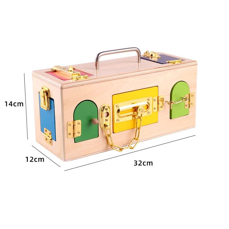 Kids Wooden Montessori Toys Memory Match Stick Educational Color Cognitive Geometric Shape Puzzles Toys For Children 7