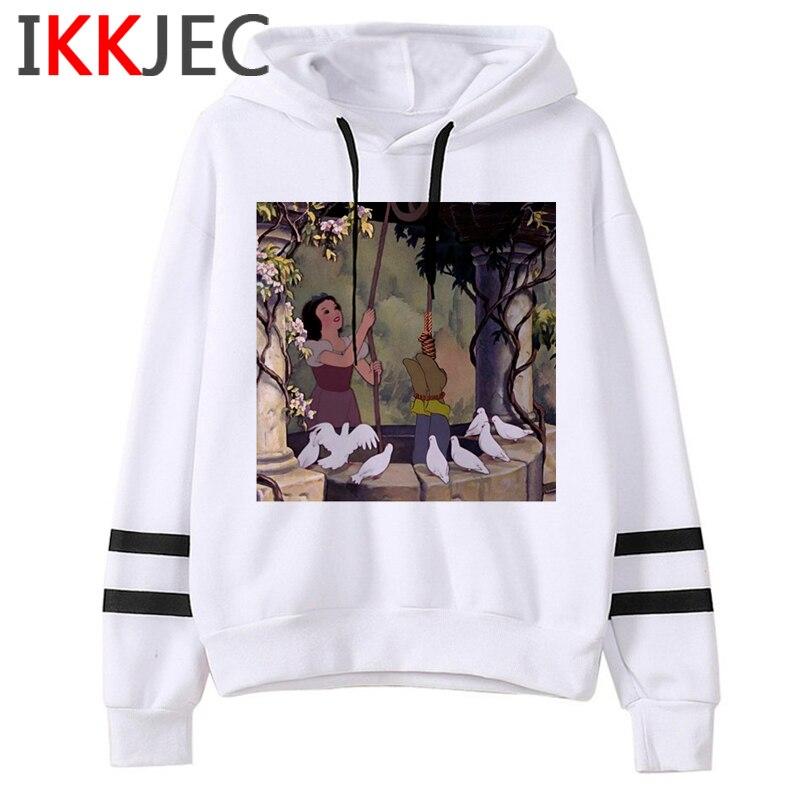 Aesthetic Harajuku Funny Cartoon Hoodies Women/men Grunge Princesses Vintage Sweatshirt 90s Graphic Fashion Hoody Female/male 17