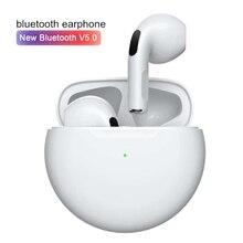 Беспроводные Bluetooth-наушники Mini Pro 6 TWS PK i9000 i12 для Xiaomi Redmi Airdots Huawei iPhone 12