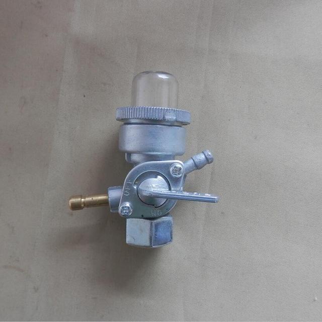 Válvula de combustible G100, doble boquilla de hilo femenino para HONDA GK/G150 G200 G300 G400 ED1000 EG1000 E/ES4500 F500, llave de purga