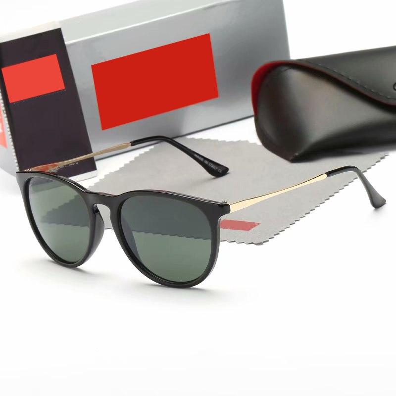 Vintage Cat Eye Sunglasses Women Brand Designer Erika Models Oculos De Sol Feminino Protection Mirrored Sun Glasses 4171