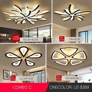 Image 3 - Lamparas דה baño שינה מודרני נברשת תליון תליית שקוע מודרני led תקרת אורות סלון נברשות