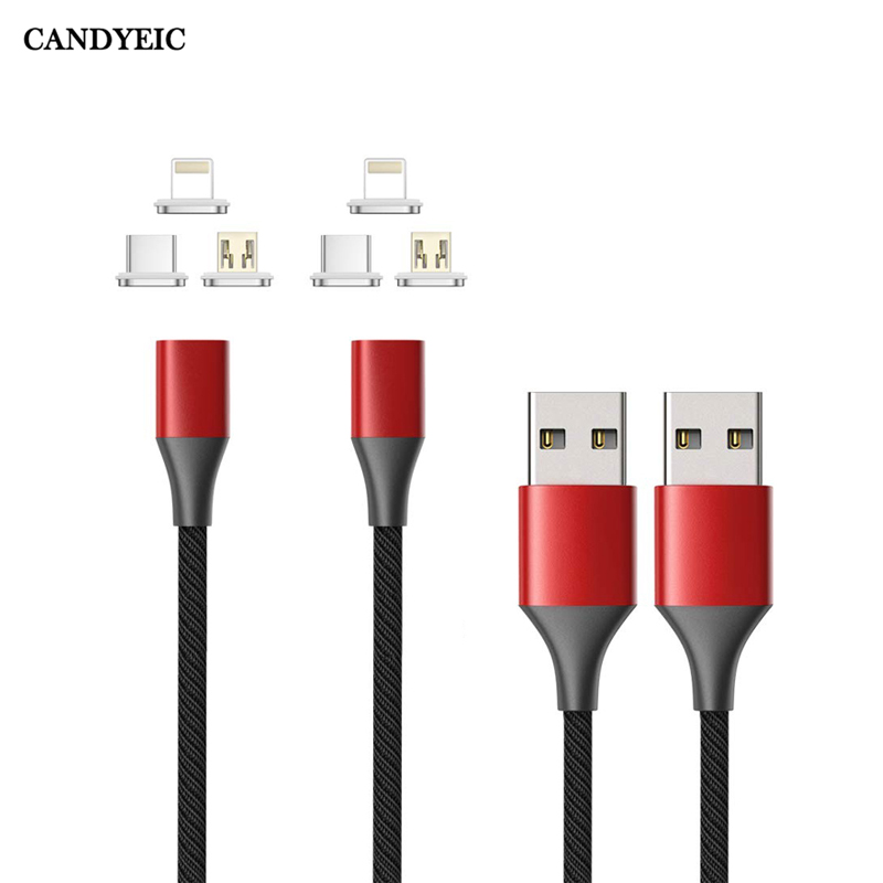 USB Type C Magnetic Cable For Samsung S20 S10 S9 Plus A71 A70S A50S A90 HONOR 30S PRO V30 XIAOMI CC9 PRO USB C Magnetic Charger