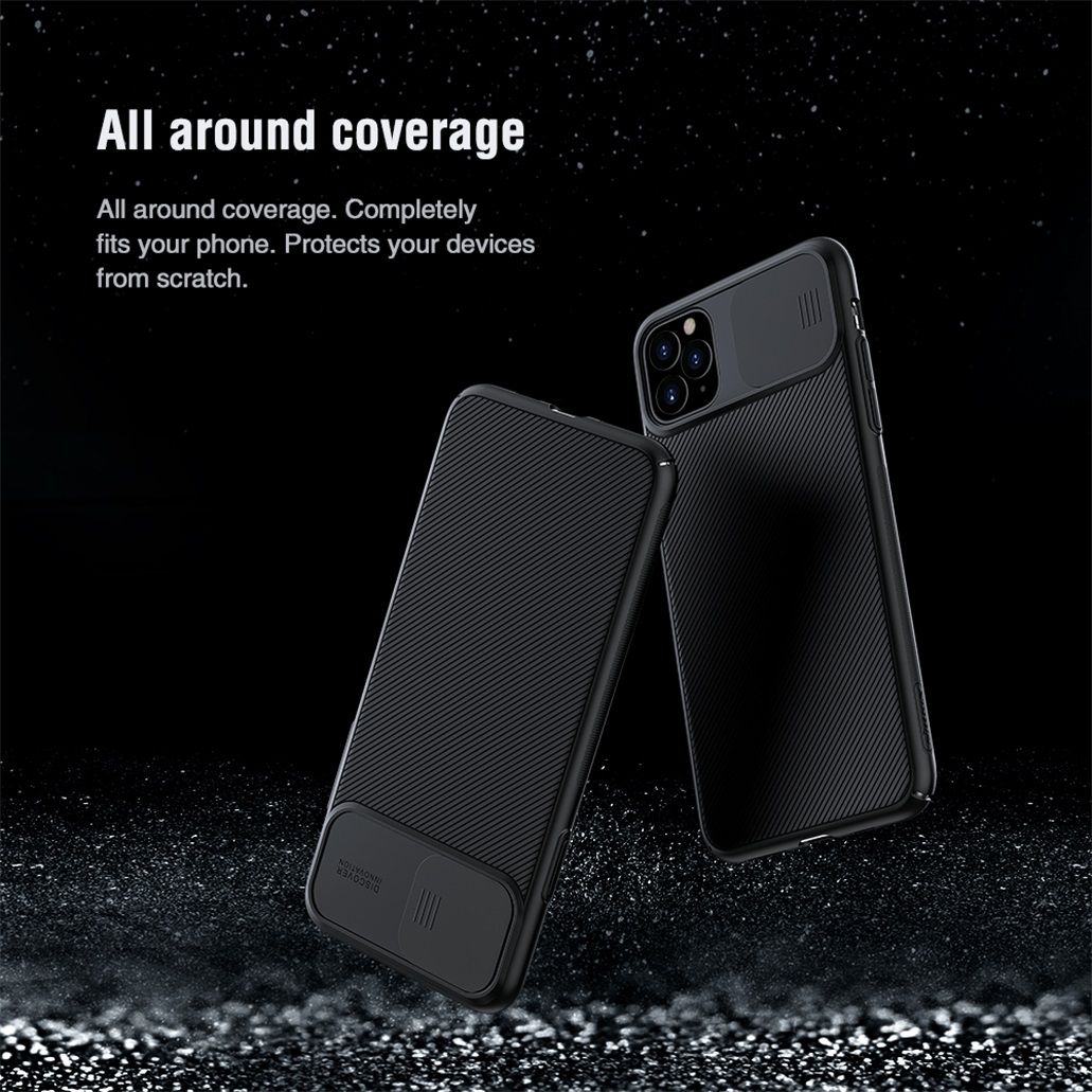 Hfdbd91d475ad4457a946f66dd1e7fa3bW For iPhone 11 11 Pro Max Case NILLKIN CamShield Case Slide Camera Cover Protect Privacy Classic Back Cover For iPhone11 Pro