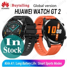Global Version HUAWEI Watch GT 2 SmartWatch Kirin A1 Bluetooth 5.1 Blood Oxygen Heart Rate Sleep Battery Life For Android iOS