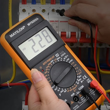 Multimètre numérique professionnel MY9205A multimètre testeur gamme manuelle compteur de tension véritable RMS Transistor testeur électricien outil