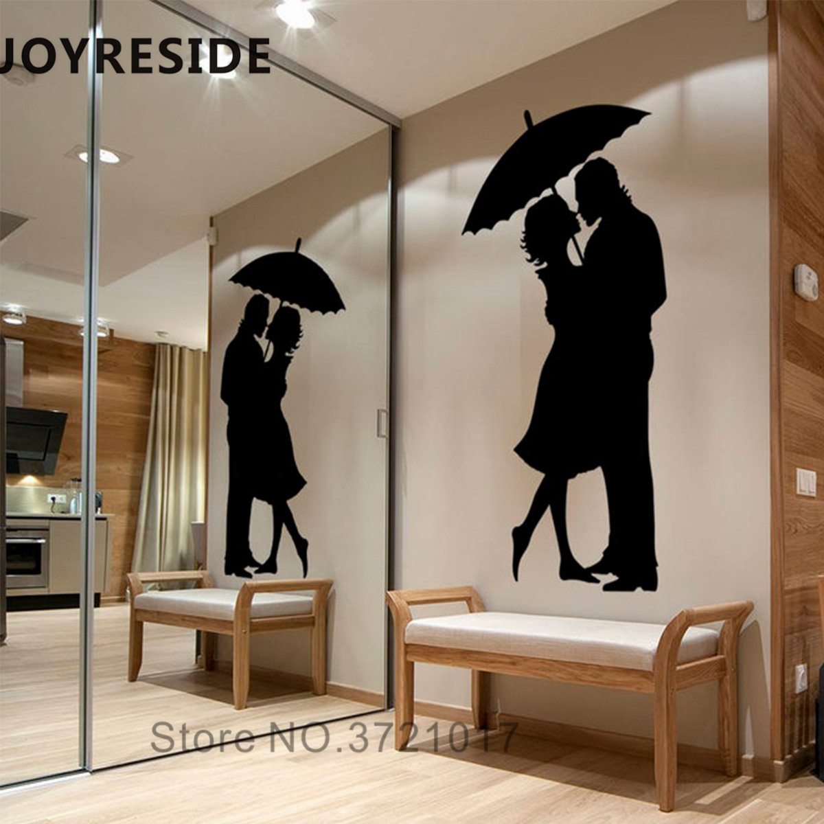 Lover love girl Home Room Decor Removable Wall Stickers Decal Decoration
