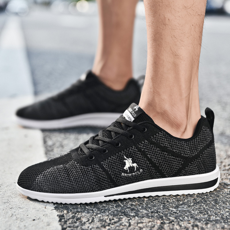 Spring Summer Men Running Shoes Mesh Walking Sneakers Men Breathable Comfortable Brand Sport Shoes Trampki Zapatillas Deportiva