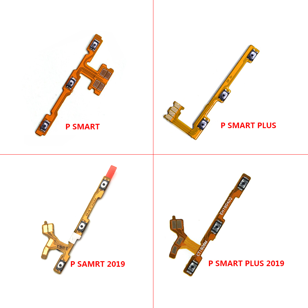 Power ON OFF Volume Up Down Side Button Flex Cable For Huawei P Smart Plus 2019 Power On Off Volume Switch Flex
