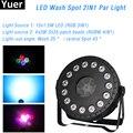 2020 novo mini led lavagem ponto 2in1 par luz 15x1.5 w rgb 3in1 led projetor 4x3 w smd 3535 rgbw 4in1 dj discostage efeito luz