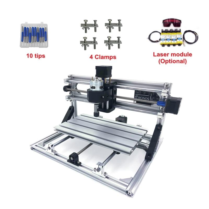 CNC 2418 500MW 2500MW 5500MW Laser Engraving Wood Cutting Machine