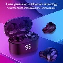 A6 TWS zestaw słuchawkowy Bluetooth 5.0 z redukcją szumów z mikrofonem zestaw głośnomówiący słuchawki douszne do Xiaomi Redmi Airdots bezprzewodowe douszne
