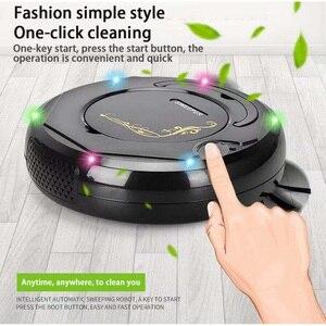Интеллектуальный автоматический подметальный робот, сухая швабра с отпечатками пальцев, бытовой пылесос для пола, инструмент для очистки а...