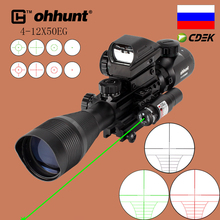 4-12X50 Sight Groen Ohhunt