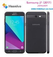 Samsung Galaxy J7 reformado-V J727 5,5 pulgadas 2GB de RAM 16GB ROM 4G LTE 8.0MP Cámara Octa Core teléfono móvil