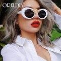 Солнцезащитные очки в стиле ретро UV400 женские, овальные модные солнечные очки «кошачий глаз» в винтажном стиле, с Пчелой, 2020